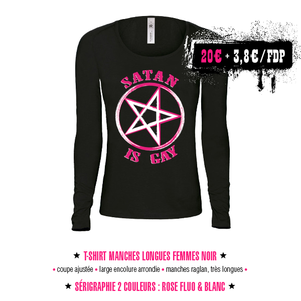 T-shirts manches longues femmes - Satan Is Gay
